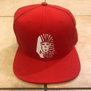 27337bed46a Official Last Kings Red Adjustable Snapback Hat